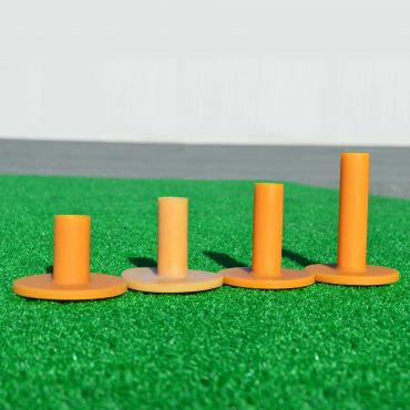 Mixed Sizes - Rubber Driving Range Tees (4 Pack) | Net World Sports
