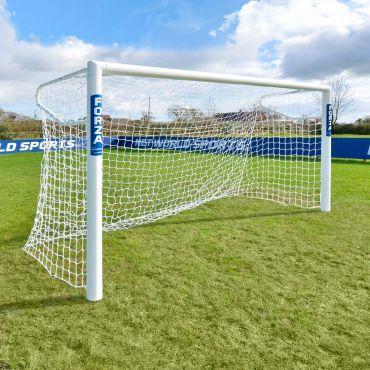 3m x 2m FORZA Alu110 Socketed Futsal Football Goal