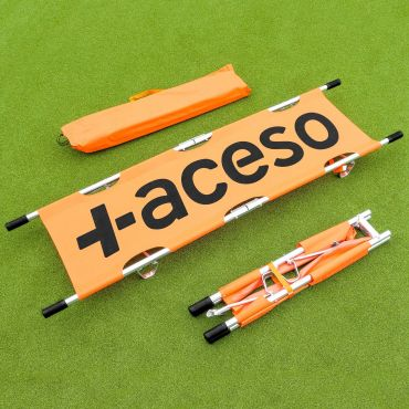 Orange Foldable Aluminum Stretcher