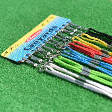 Multi-Colored Lanyards - 12 Pack