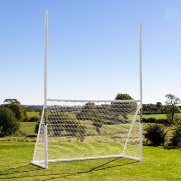 uPVC Back Garden American Football Goals