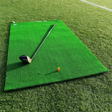 FORB Academy Golf Practice Mat | Golf Stance Mat | Artificial Turf Golf Mat | Net World Sports