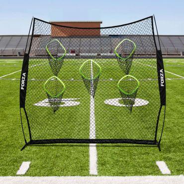 American football throwing target