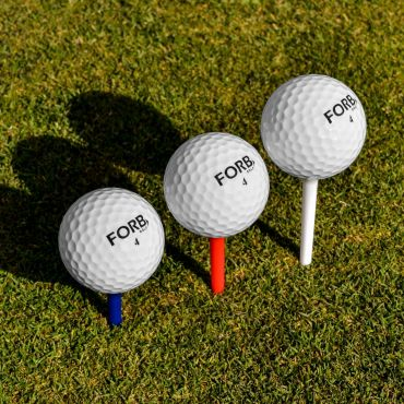 FORB Golf Tees - 200 Jumbo Pack (Mixed Size)