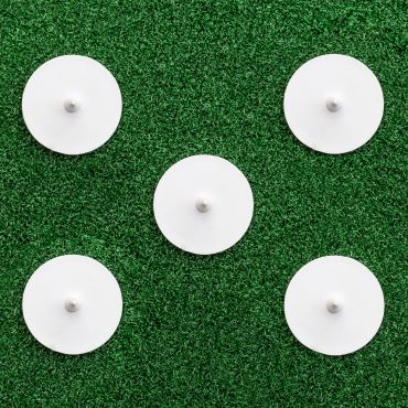 Bowlers Run-Up Marker Discs [Pack of 5] | Net World Sports