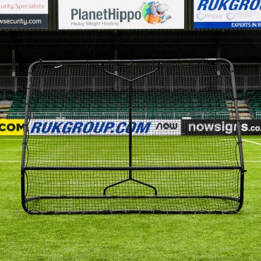 Dual-Angle Soccer Training Bounce Back Rebounder