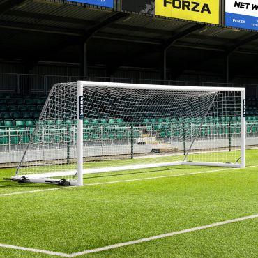 21 x 7 FORZA Alu110 Freestanding Soccer Goals