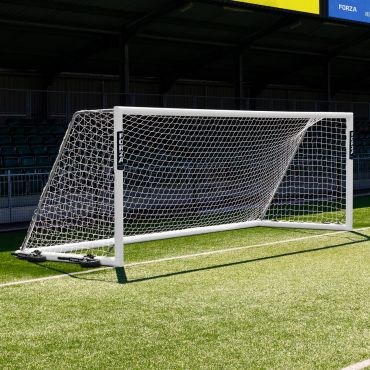 18.5 x 6.5 FORZA Alu110 Freestanding Football Goal