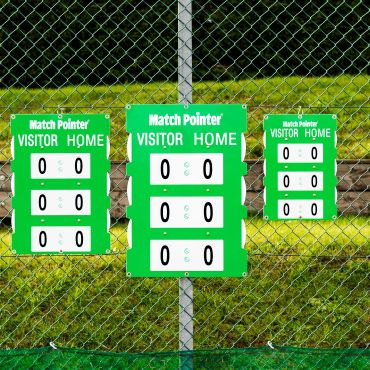 Fence Mounted Tennis Scoreboard | Tennis Scoreboard | Tennis Court Equipment | Net World Sports