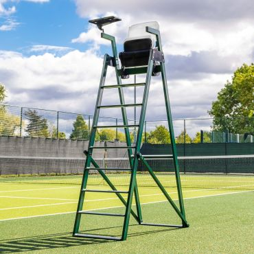 Professional Aluminum Tennis Umpires Chair | Conforms With ITF Tournament Regulations | Net World Sports