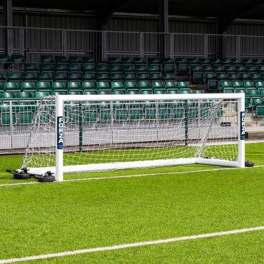 12 x 4 FORZA Alu110 Freestanding Soccer Goals