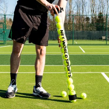 Pick-Up Tube For Tennis Balls | Tennis Ball Collector | Tennis Ball Hopper | Net World Tennis