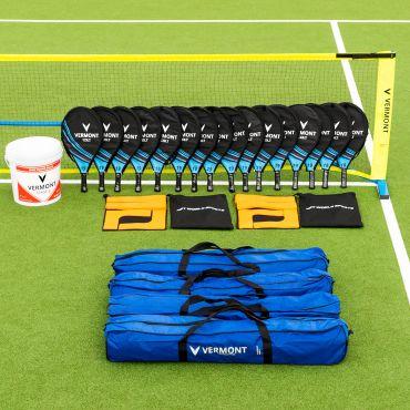 Vermont ProCourt Mini Tennis Set [4 Nets] – Schools Edition