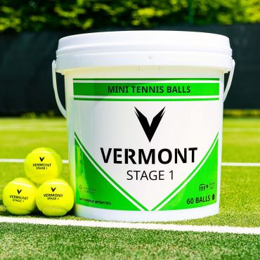 Vermont Mini Green Tennis Ball | Net World Sports