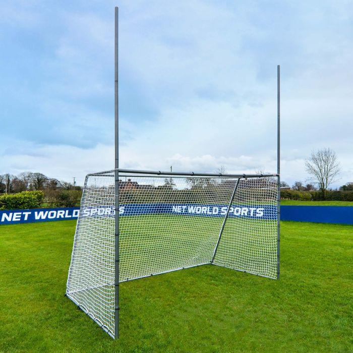 Galvanized Steel GAA Gaelic Football & Hurling Goal For The Backyard | Net World Sports