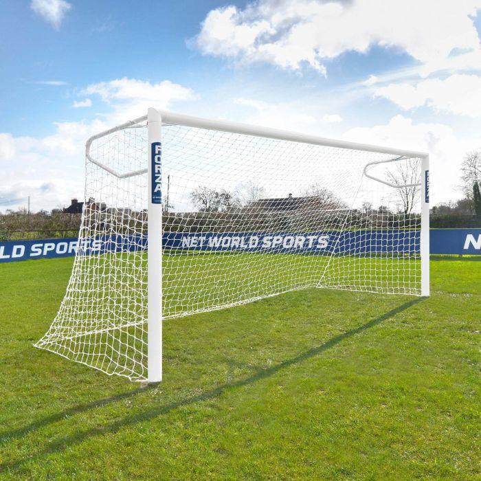 FORZA 12x6 Alu110 Socketed Soccer Goal