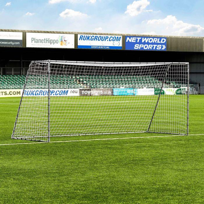 16 x 7 FORZA Steel42 Football Goal | Net World Sports