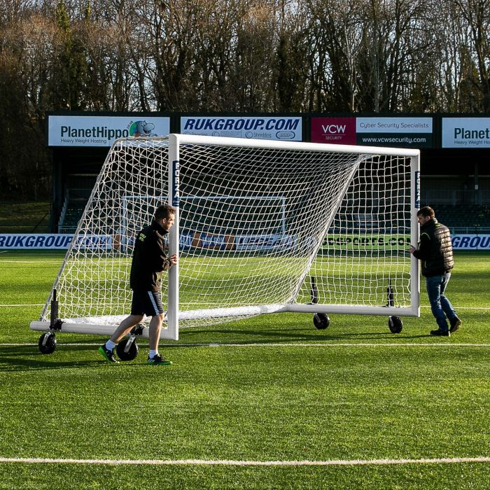 Durable Freestanding Football Goals