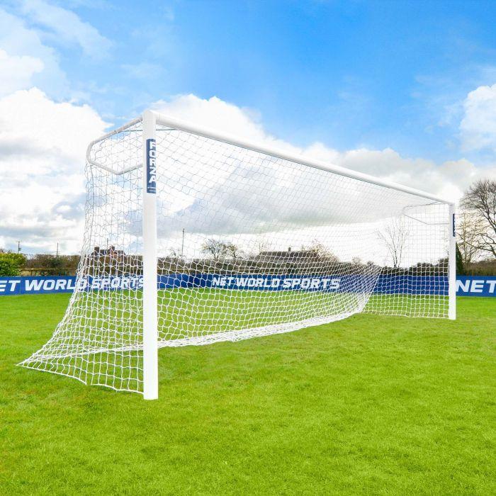 21 x 7 FORZA Alu110 Socketed Soccer Goals