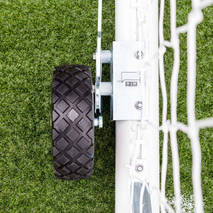 Wheels For Easy Football Goal Movement