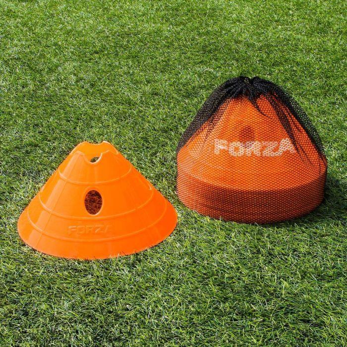 Orange Football FORZA Mega Cone And Bag