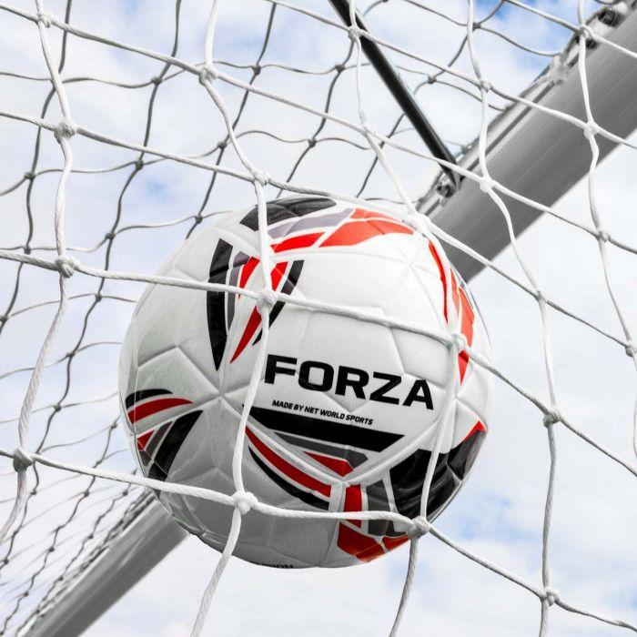 21 x 7 FORZA Alu110 Freestanding Football Goal With Wheels