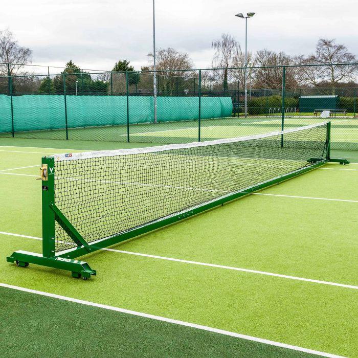 33ft Regulation Singles Tennis Posts Freestanding | Net World Sports