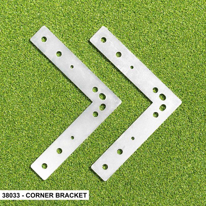 Corner Bracket For FORZA Alu110 Socketed Goals
