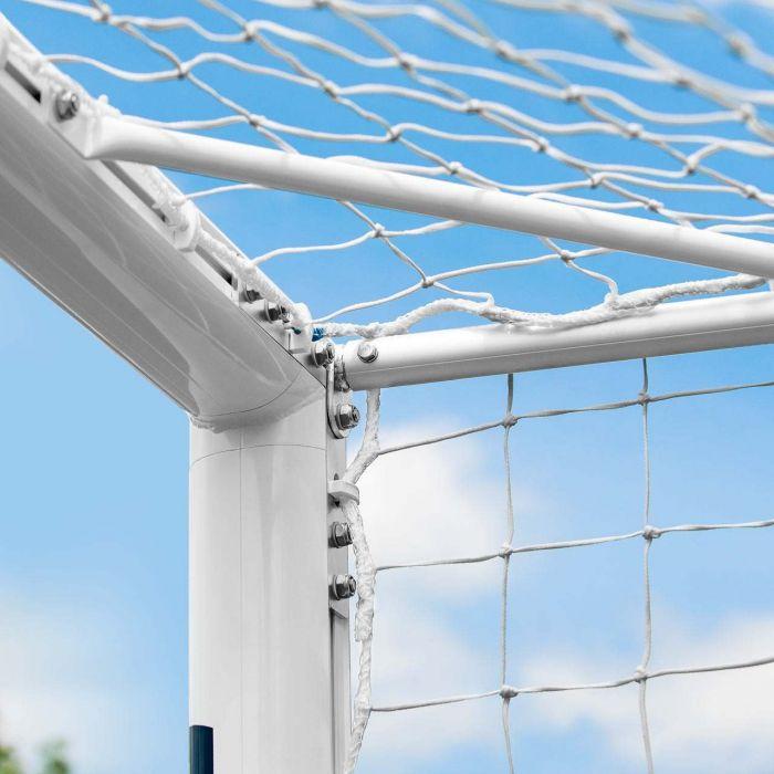 16 x 7 FORZA Alu110 Freestanding Football Goal With 360 Wheels