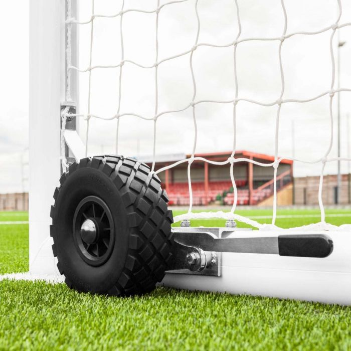 Alu110 Full Size Football Goal Stanchions