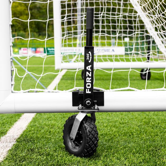 16 x 7 FORZA Alu110 Freestanding Football Goal With Wheels