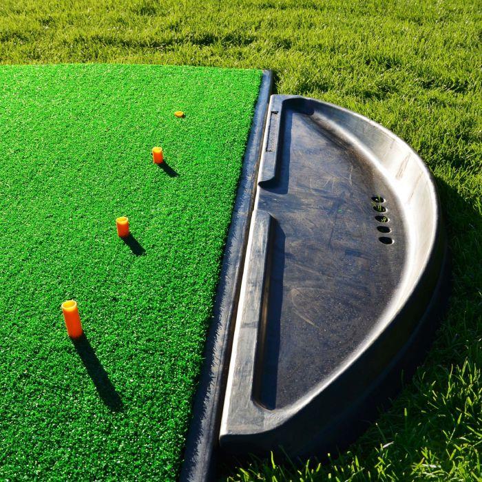 Heavy Duty Rubber Golf Ball Tray Holder | Net World Sports