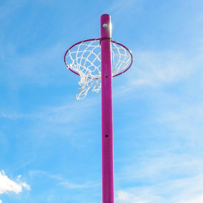 Pink Steel Netball Ring
