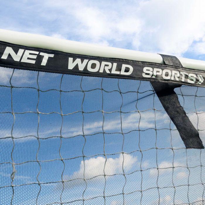 Bright Yellow Soccer Goal Target Sheet Banding