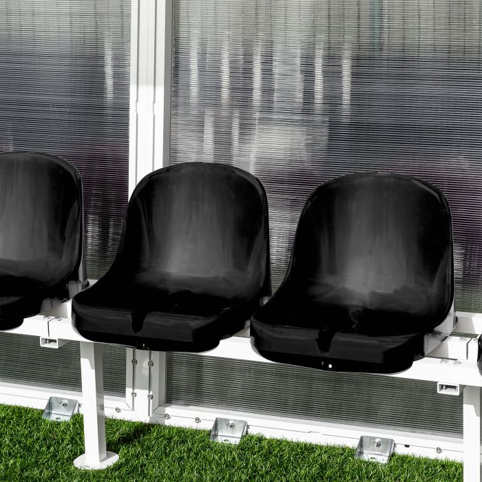 Black Seats For Aluminum Team Shelters