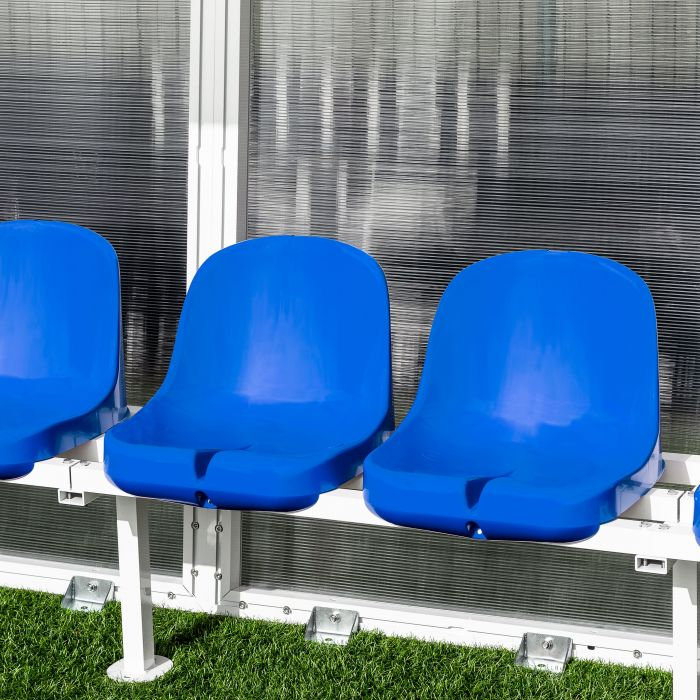 Blue Seats For Aluminium Team Shelters