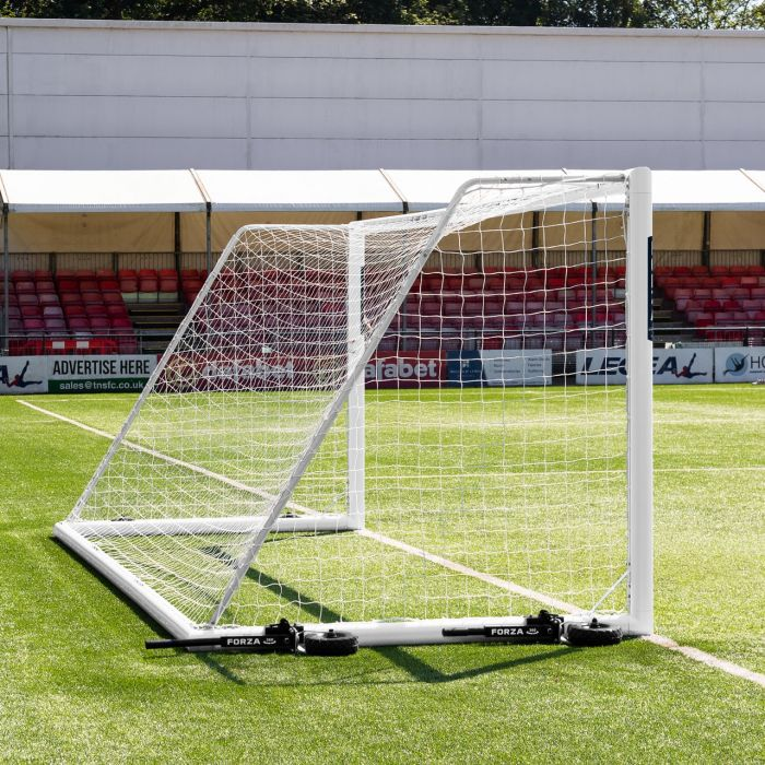 FORZA 21 x 7 Alu110 Football Goals With Weights