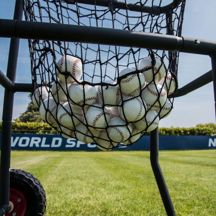 Baseball Ball Hopper On Wheels!