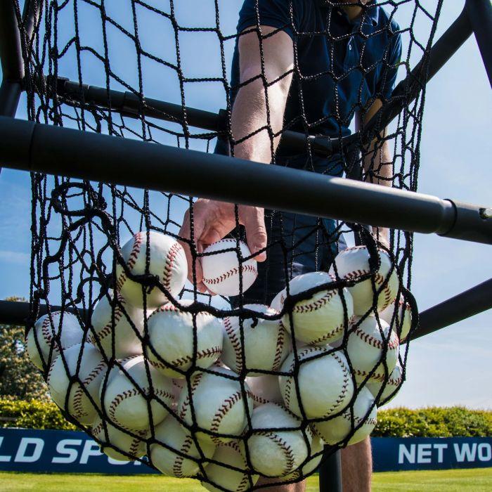 Baseball Ball Carry Cart - Ball Trolley - Ball Hopper