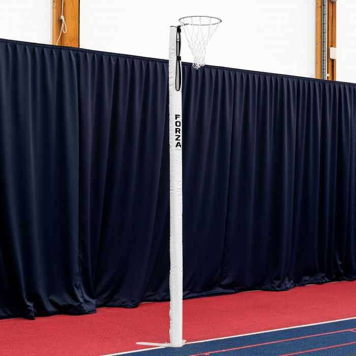 Floor Fixed Competition Grade Netball Posts