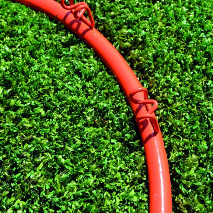 Red Basketball Ring and Net Long Lasting