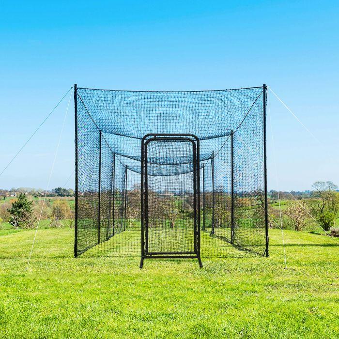 Baseball Batting Cage Door