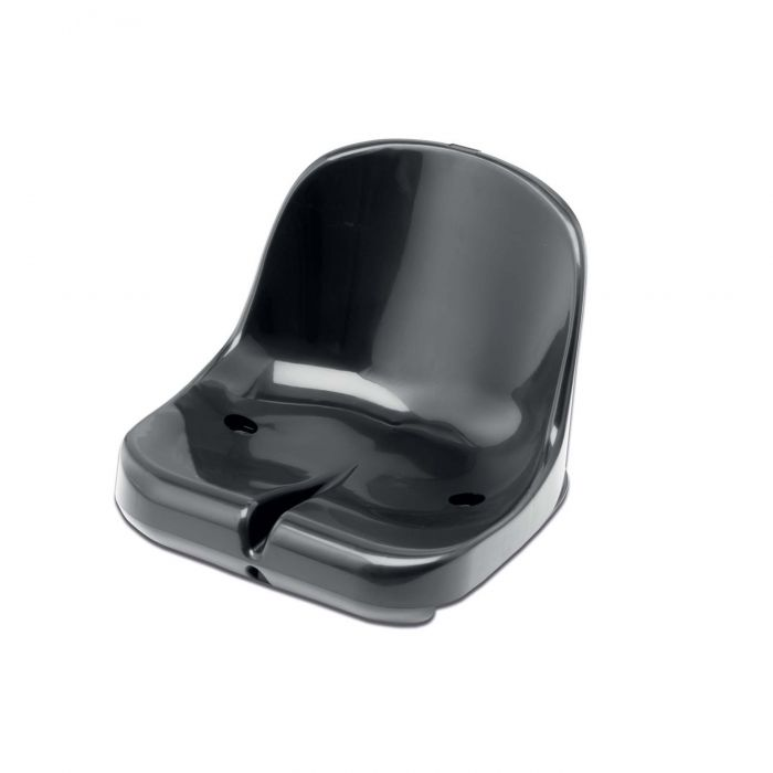 Black Moulded HDPP Seats for Sports Dugout & Shelters | Net World Sports