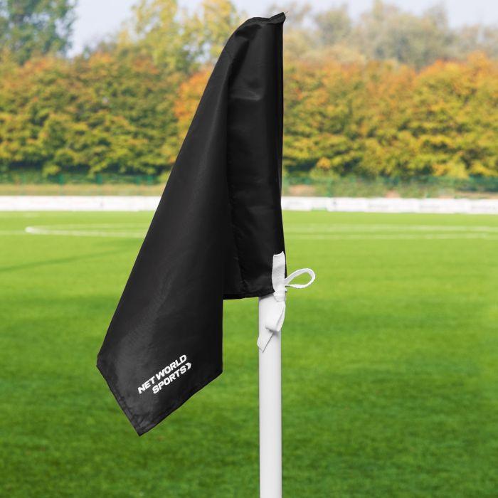 Black Corner Flags