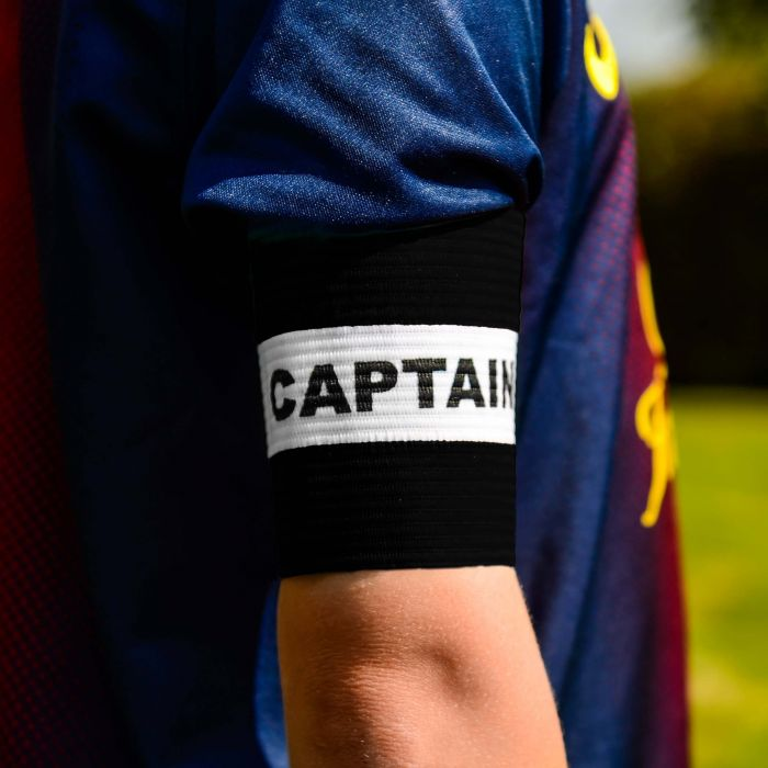 Black Captains Armbands for Kids