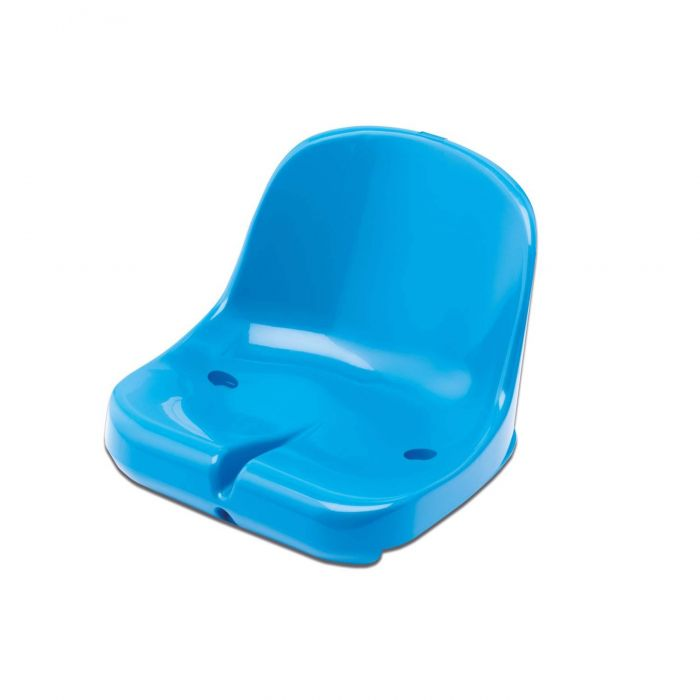 Blue Moulded HDPP Seats for Sports Dugout & Shelters | Net World Sports