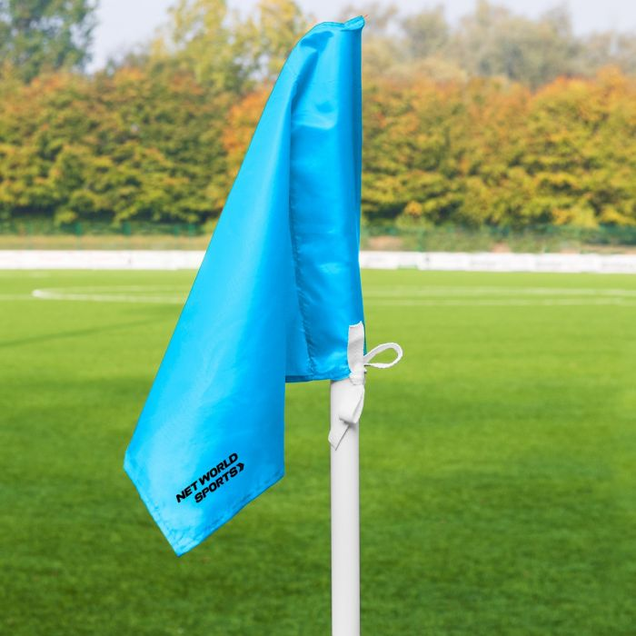 Light Blue Corner Flags