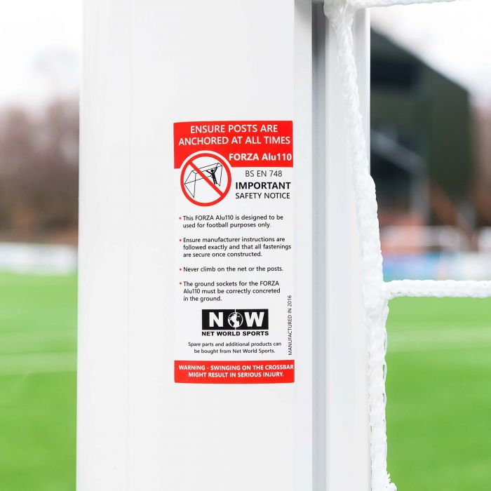 24 x 8 Professional Quality Stadium Box Soccer Goal