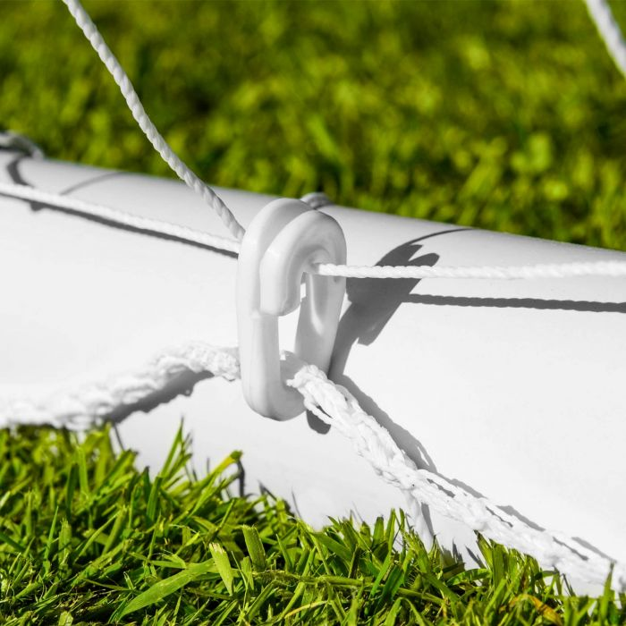 Heavy Duty Goal Netting With Plastic Net Clips | Net World Sports