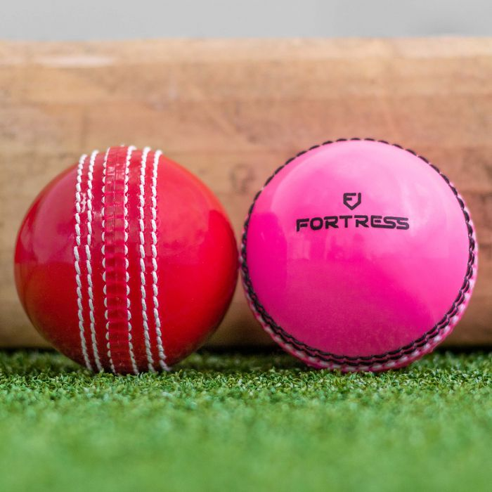 Traditional Red Or High-Visibility Pink Cricket Balls | Net World Sports